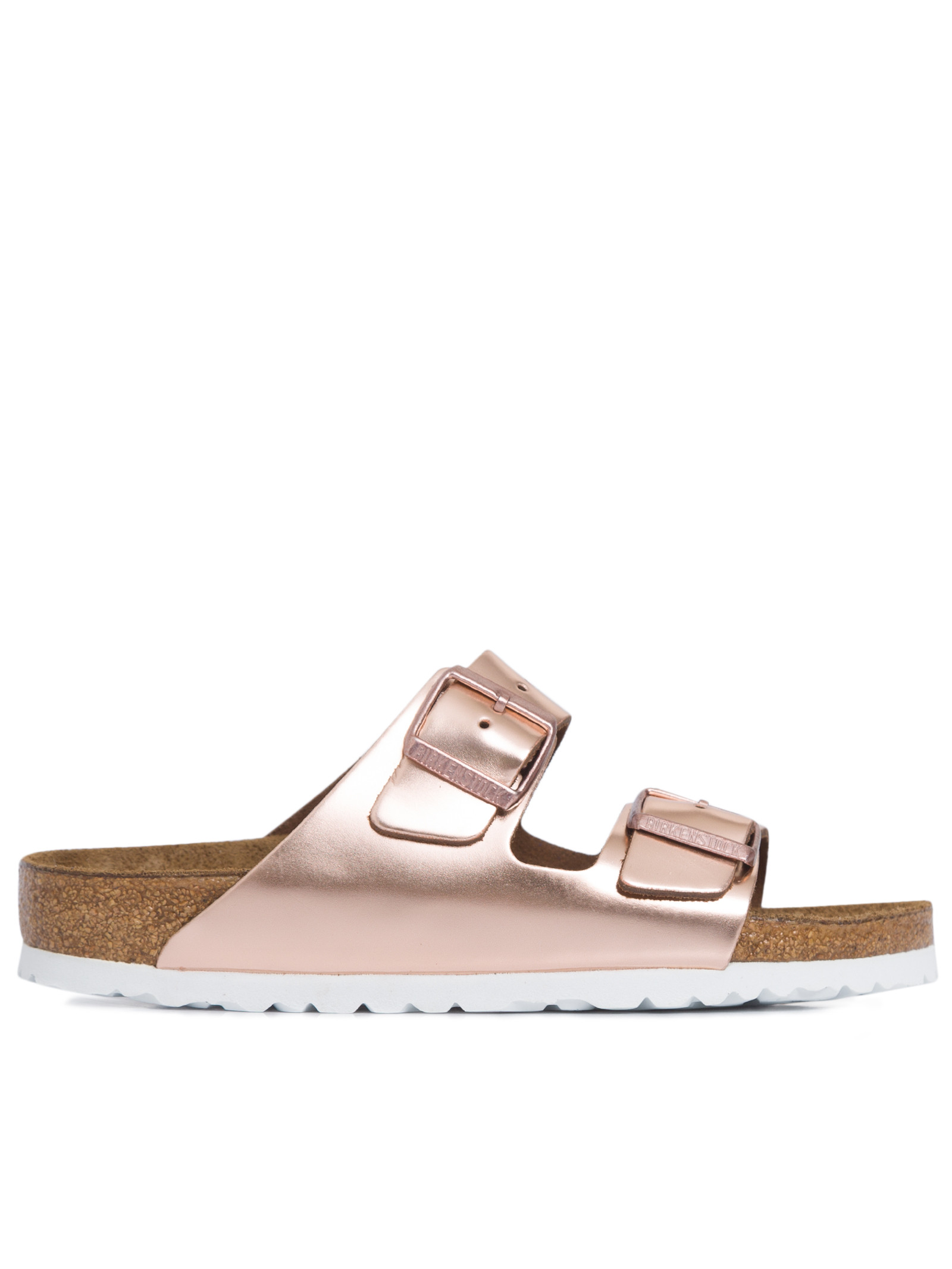 SANDÁLIA FEMININA ARIZONA METALLIC COPPER - ROSA
